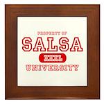 Salsa University Framed Tile