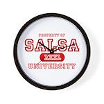 Salsa University Wall Clock