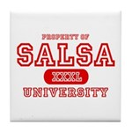 Salsa University Tile Coaster