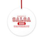 Salsa University Ornament (Round)