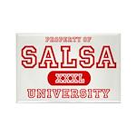 Salsa University Rectangle Magnet