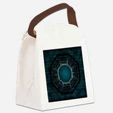 dharma numbers Canvas Lunch Bag