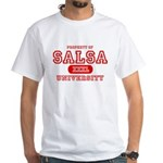Salsa University White T-Shirt