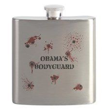 Obamas Bodyguard_KrubDesigns Flask