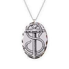 sailorukes_anchor_logo.eps Necklace Oval Charm