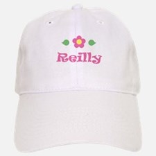 """Pink Daisy - """"Reilly"""" Baseball Baseball Cap"""