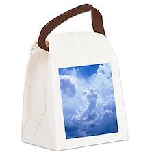 MousePad_SkyBlue Canvas Lunch Bag