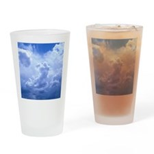 MousePad_SkyBlue Drinking Glass