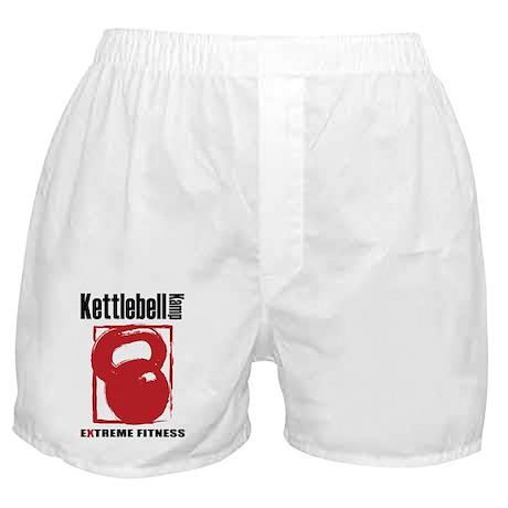 Kettlebell Kamp Logo 50% Boxer Shorts