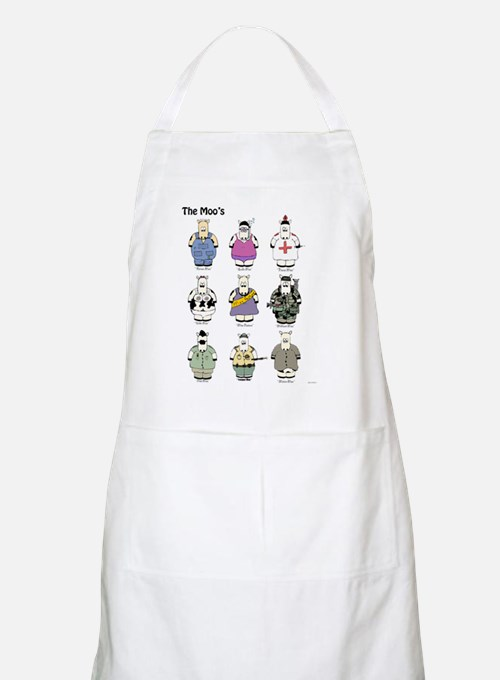 The Moos Poster Apron