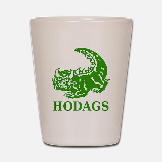 Rhinelander Hodags Shot Glass