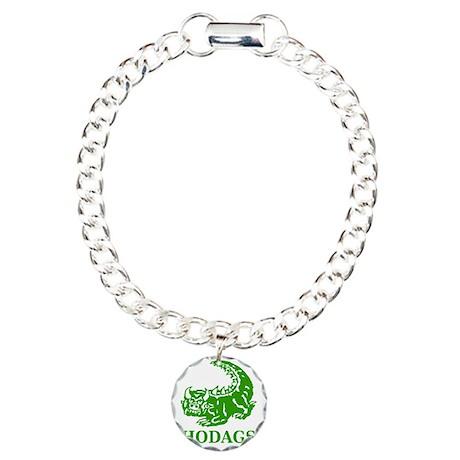 Rhinelander Hodags Charm Bracelet, One Charm