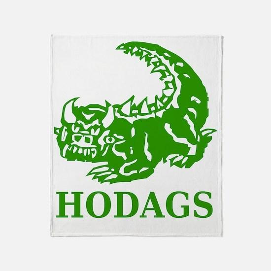 Rhinelander Hodags Throw Blanket
