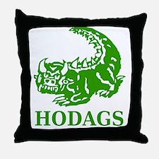 Rhinelander Hodags Throw Pillow
