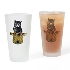 honey bear Drinking Glass