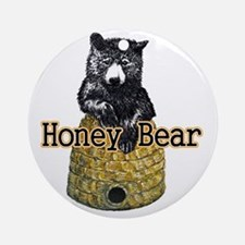 honey bear Round Ornament