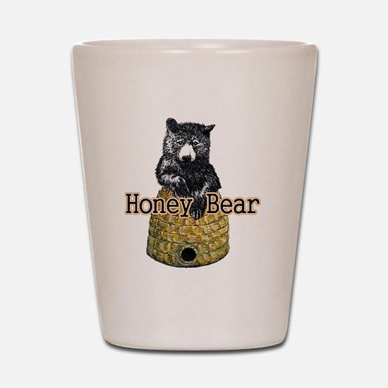 honey bear Shot Glass