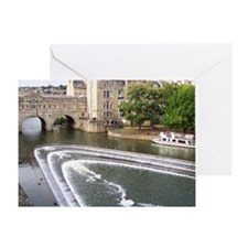 MousePad_EnglishTown_Covered_Bridge Greeting Card