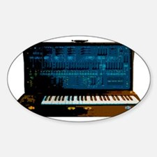 ARP 2600-black Sticker (Oval)