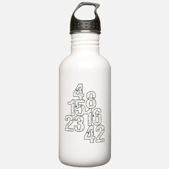 lostnumbersb Water Bottle
