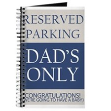 dad's parking only Journal