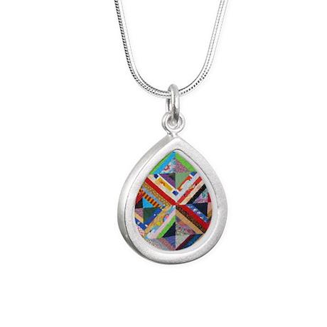IMG_2735 Silver Teardrop Necklace