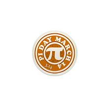 Pi Day 3/14 Circular Design Mini Button