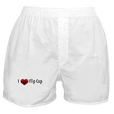 I heart Flip Cup Boxer Shorts