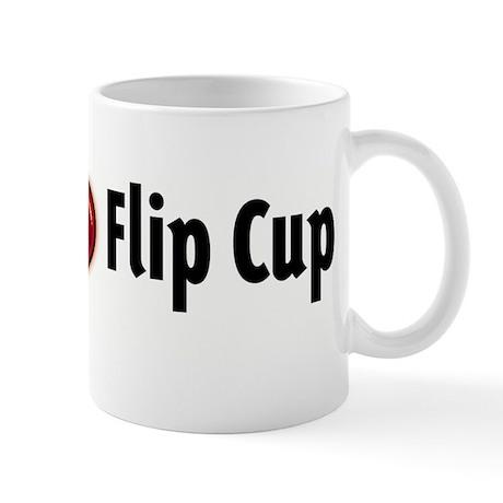 I heart Flip Cup Mug