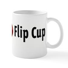 I heart Flip Cup Small Mug
