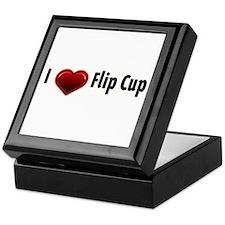 I heart Flip Cup Keepsake Box