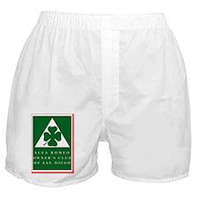 CLUB LOGO Color 2006 w_outline  Boxer Shorts