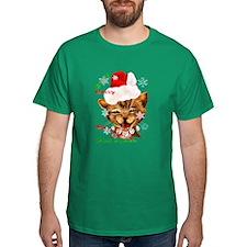Christmas Ginger Kitty T-Shirt