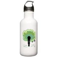 Green Can Can Water Bottle