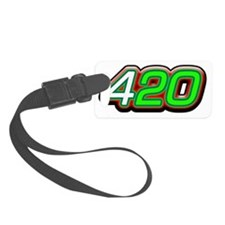 +420 Luggage Tag