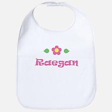 """Pink Daisy - """"Raegan"""" Bib"""