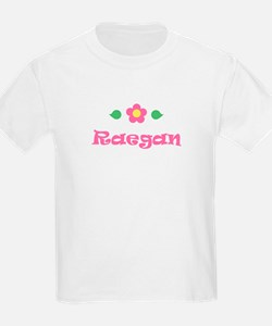 "Pink Daisy - ""Raegan"" Kids T-Shirt"