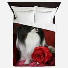 Large 5JCSpencerRose4x4 Queen Duvet