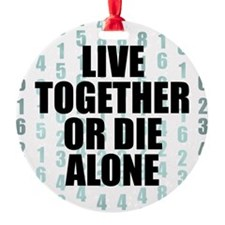 LOST Live Together Ornament