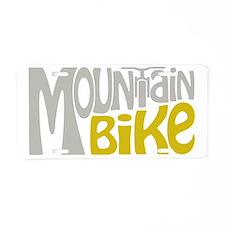 Mountain Bike Aluminum License Plate