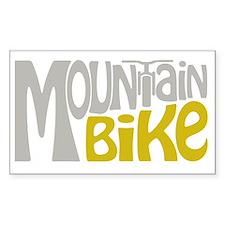 Mountain Bike Bumper Stickers