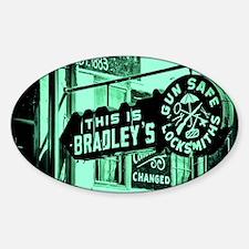 Bradleys Sticker (Oval)