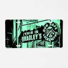 Bradleys Aluminum License Plate