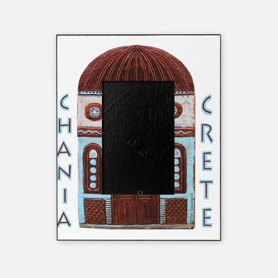 crete_t_shirt_chania Picture Frame