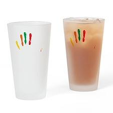 Slapsgiving_color Drinking Glass