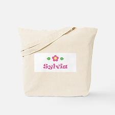 """Pink Daisy - """"Sylvia"""" Tote Bag"""
