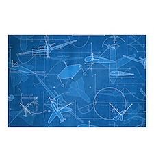 Aerodynamics Postcards (Package of 8)