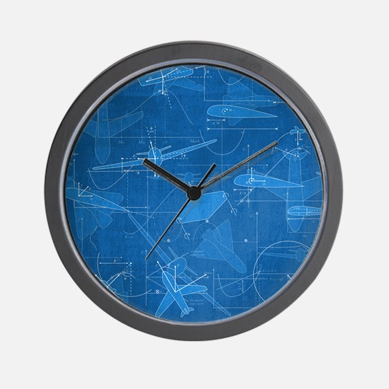 Aerodynamics Wall Clock