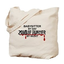 Zombie Hunter - Babysitter Tote Bag