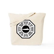 Dharma_Galaga_notext Tote Bag
